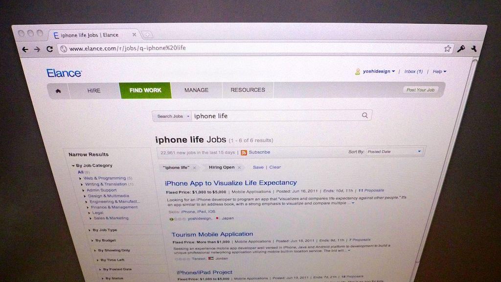 世界中のiPhoneアプリ開発者たちに入札を打診 〜 原文