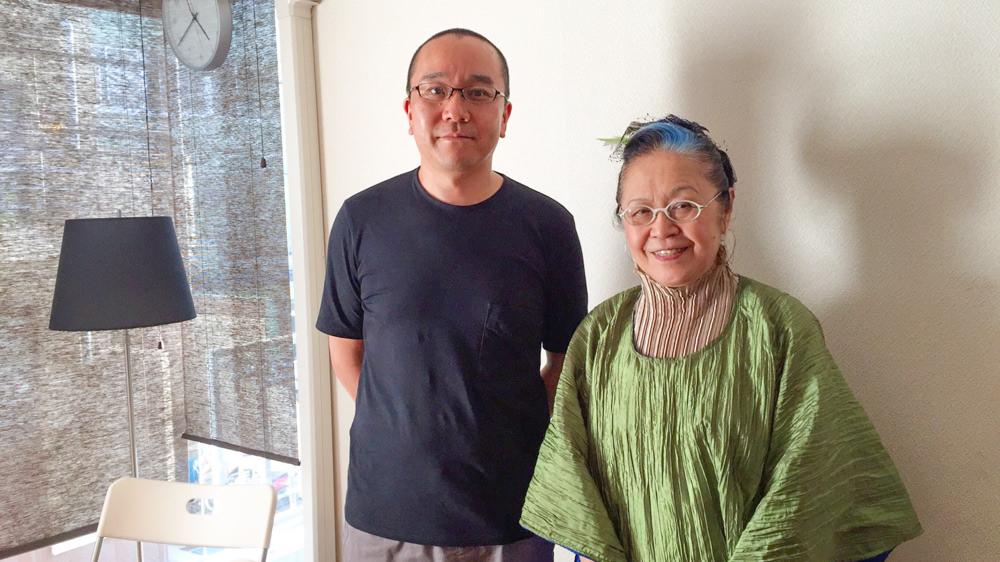 歩くデザインの歴史。海老原嘉子さん、NYよりご降臨。