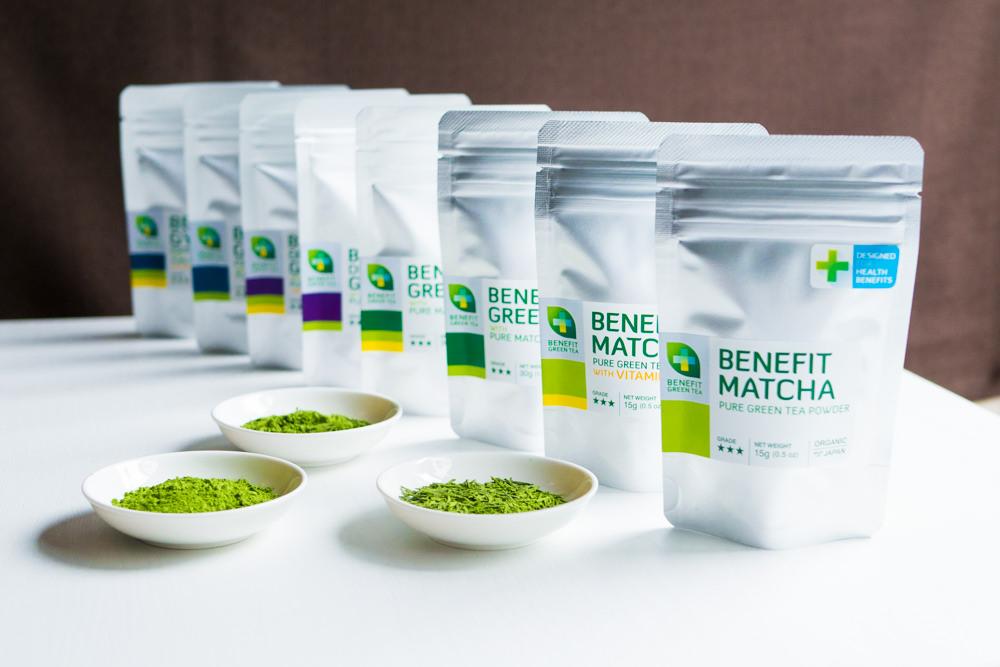 緑茶を世界に売るネット通販のデザイン。パッケージとブランドイメージづくり